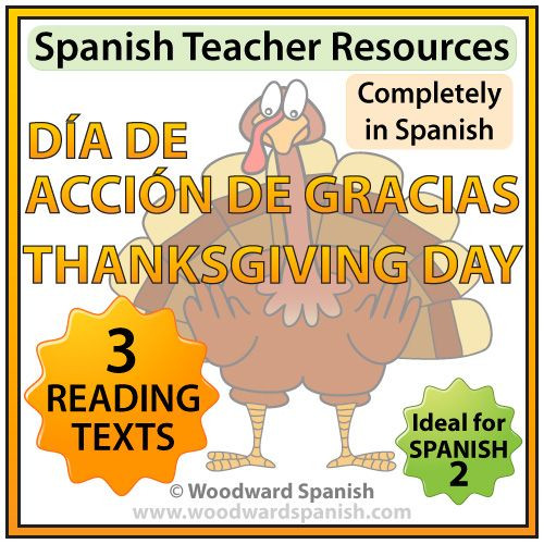 Thanksgiving Quotes In Spanish  3 original reading passages about Thanksgiving Day in