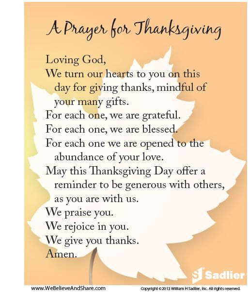 Thanksgiving Quotes To God  A Prayer For Thanksgiving s and for