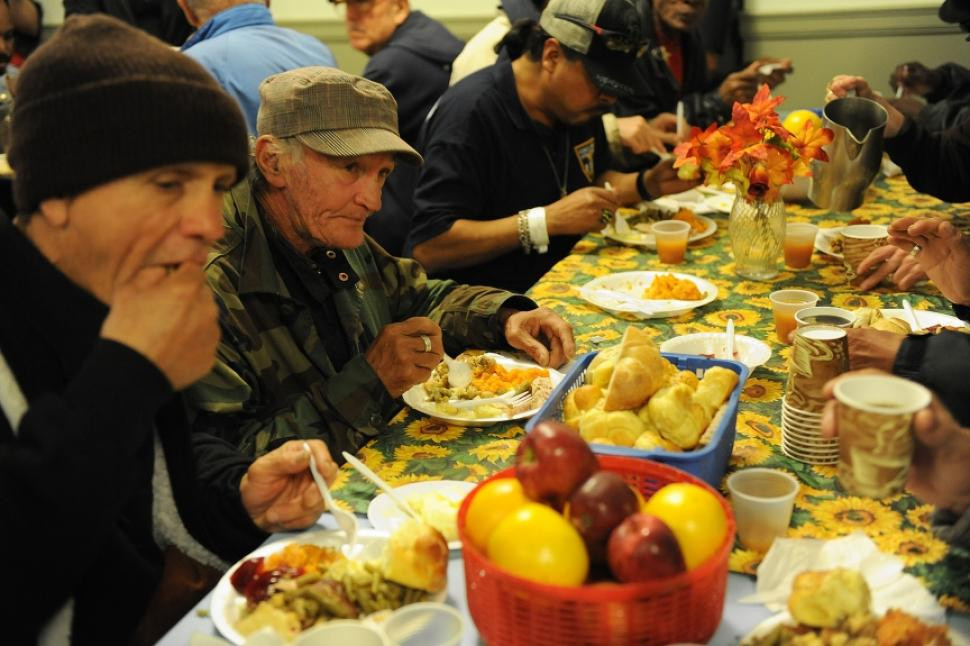 Thanksgiving Soup Kitchen Nyc  Albor Ruiz Cuts to food stamp program mean more would go