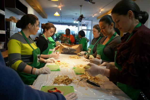 Thanksgiving Soup Kitchen Nyc  Last Minute Volunteer Opportunities for Thanksgiving Day