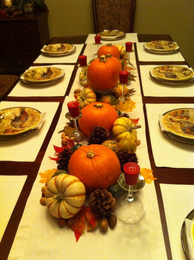 Thanksgiving Table Centerpieces  Thanksgiving Table Centerpiece Ideas 22 Pics