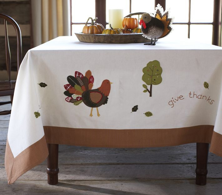 Thanksgiving Table Cloth  Get Thinking About Next Year s Thanksgiving Now