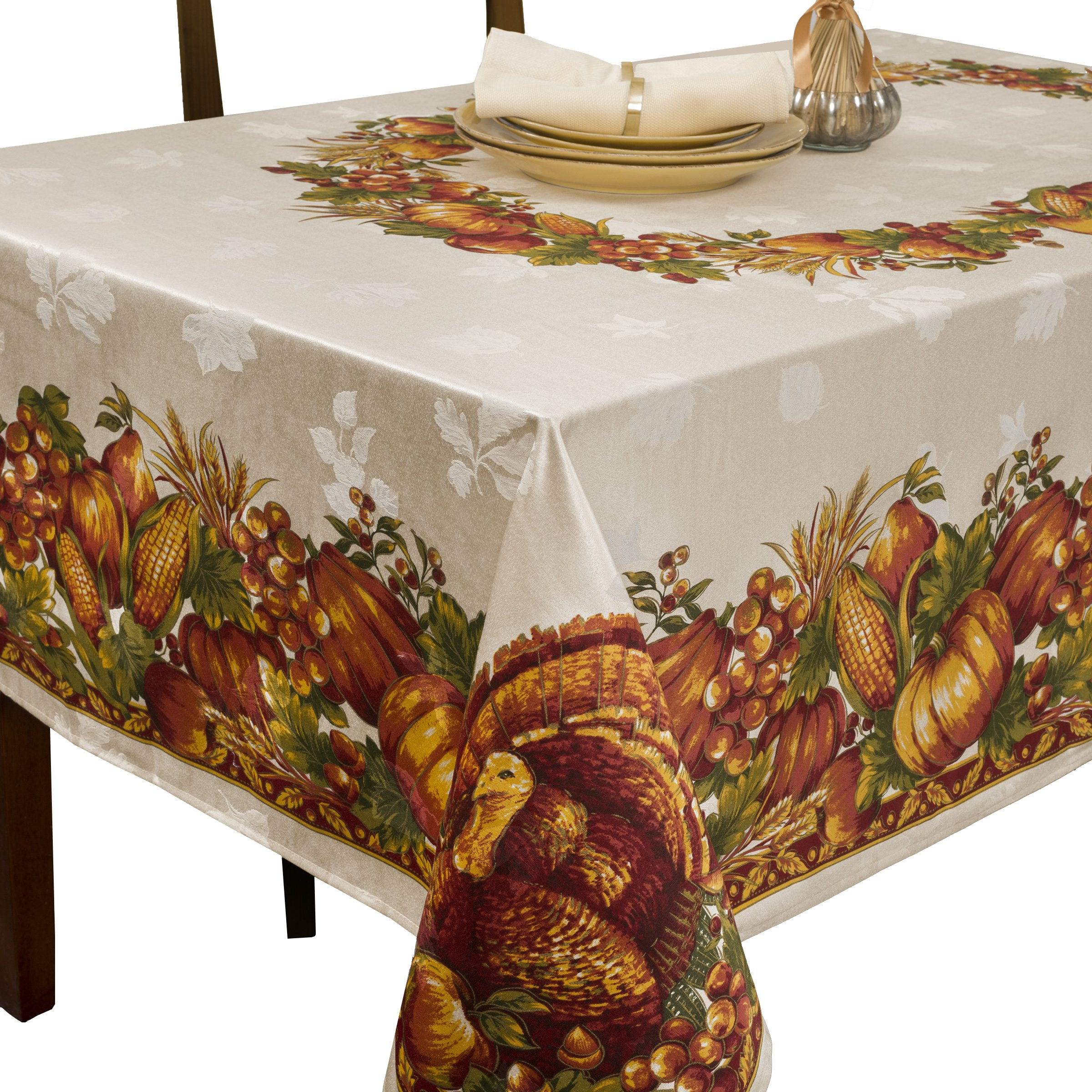 Thanksgiving Table Cloth  Thanksgiving Decorations Table Amazon