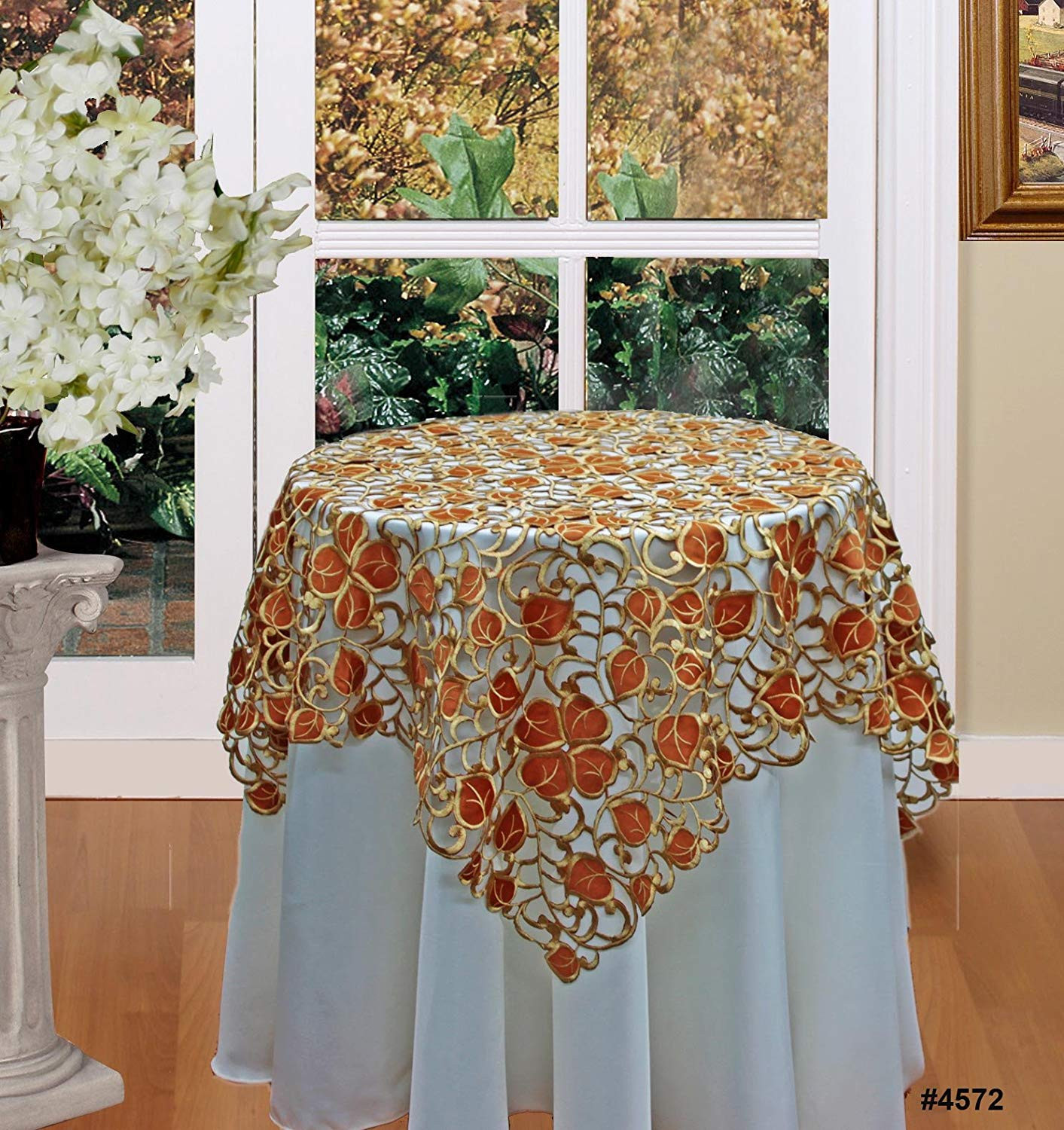 Thanksgiving Table Cloth  Thanksgiving Fabric Tablecloths