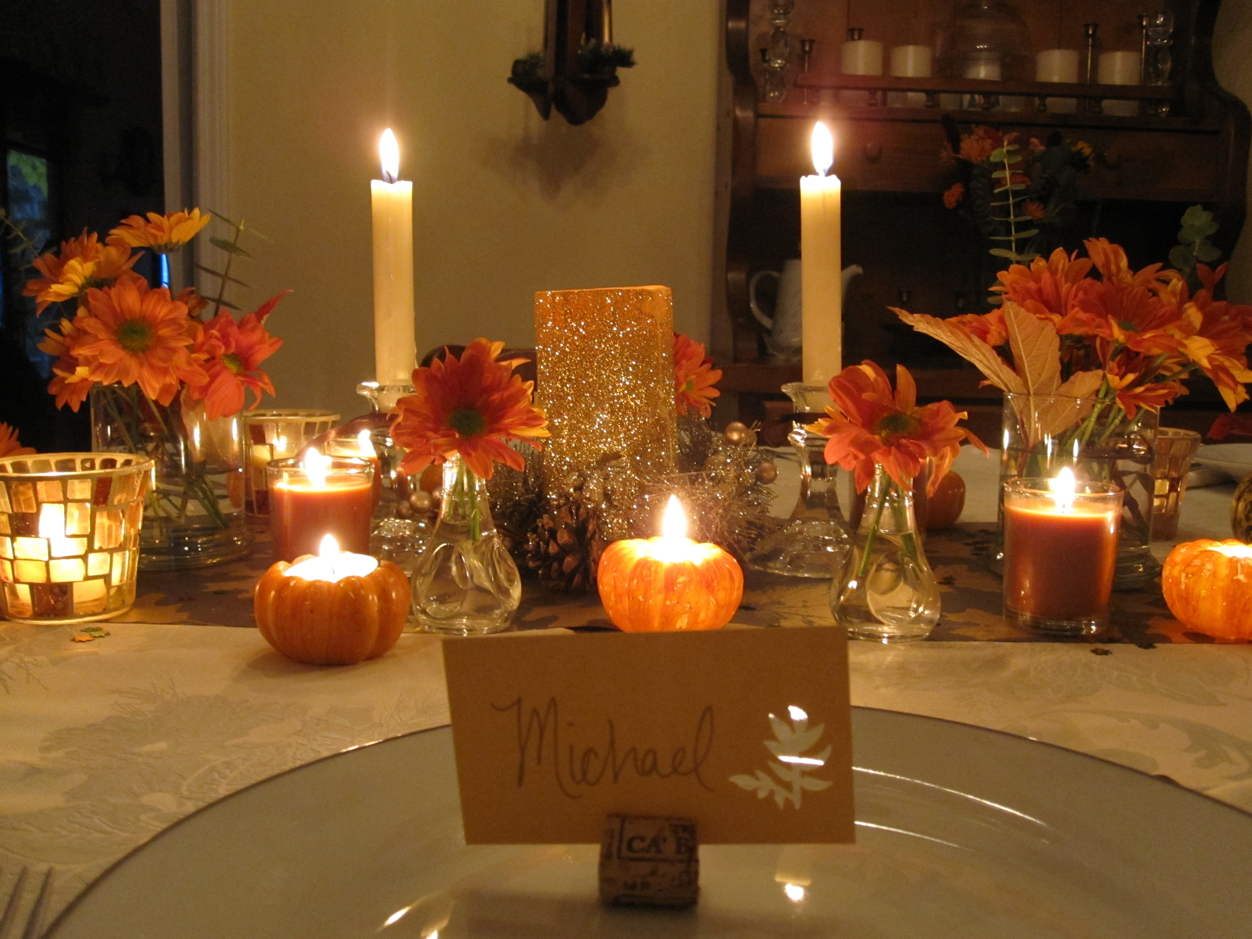 Thanksgiving Table Decor Ideas  My Thanksgiving Table