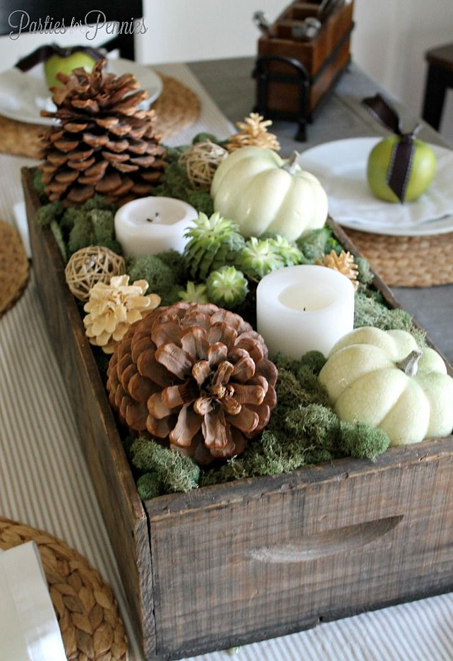 Thanksgiving Table Decor Ideas  50 Thanksgiving Decorating Ideas Home Bunch Interior