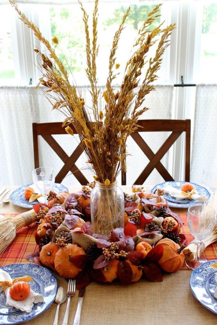Thanksgiving Table Decor  Thanksgiving Table Decor Ideas