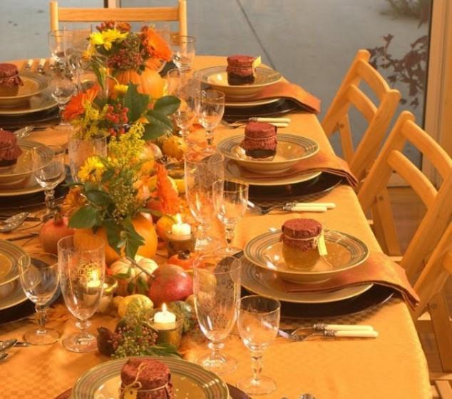 Thanksgiving Table Decor  44 Incredible Autumn Table Arrangements