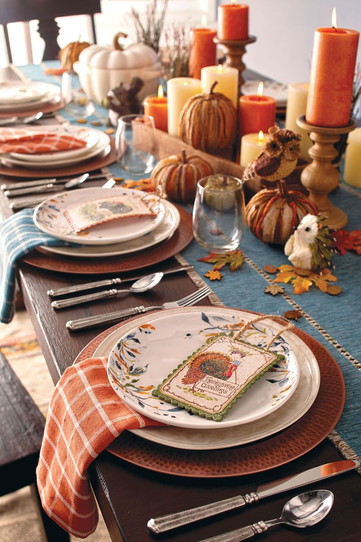 Thanksgiving Table Decor  1000 ideas about Thanksgiving Table on Pinterest