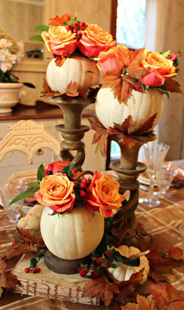 Thanksgiving Table Decor  31 Stylish Thanksgiving Table Decor Ideas Easyday