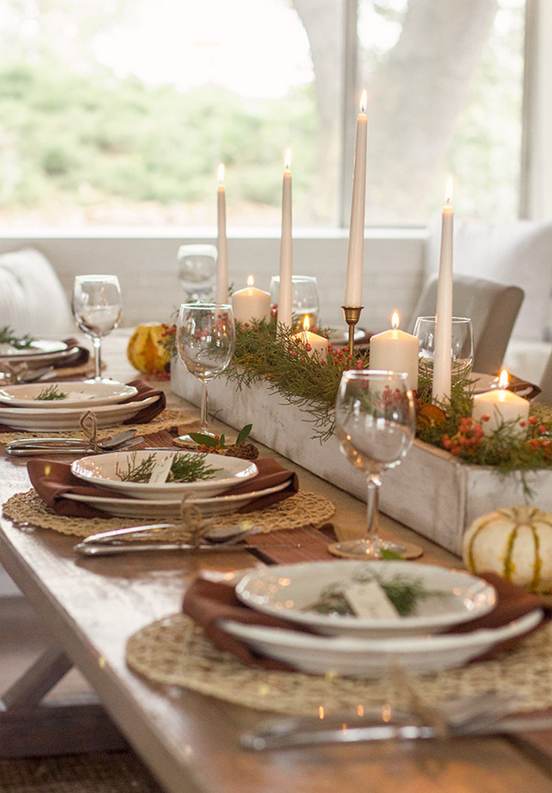 Thanksgiving Table Decor  57 Beautiful Thanksgiving Centerpieces Table Settings