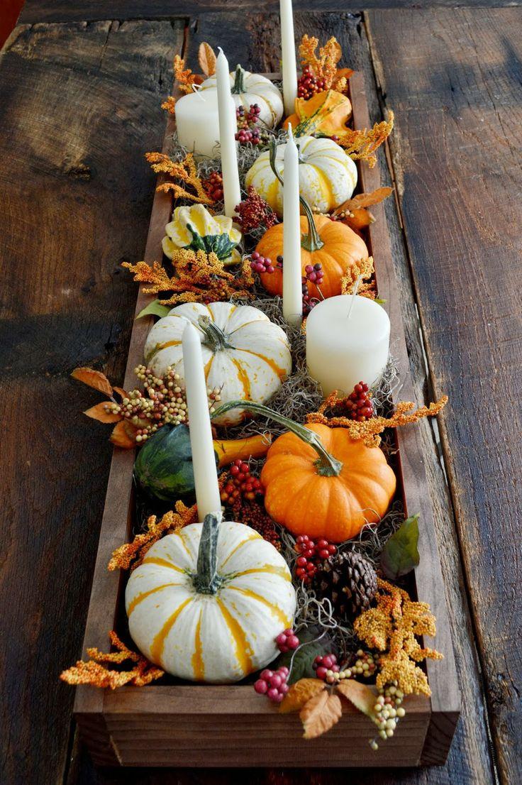 Thanksgiving Table Decorations  30 Festive Fall Table Decor Ideas