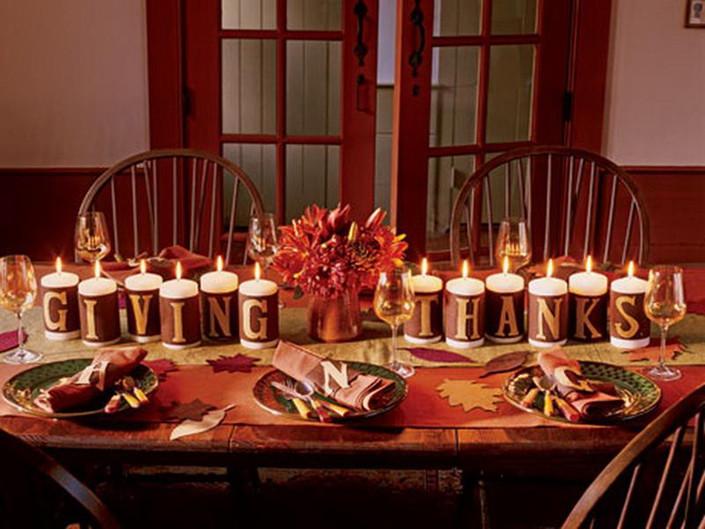 Thanksgiving Table Decorations  New Pinterest Board Thanksgiving Decor Ideas