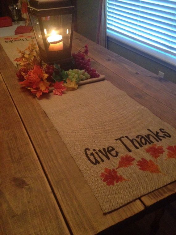 Thanksgiving Table Runner  1000 ideas about Thanksgiving Table on Pinterest