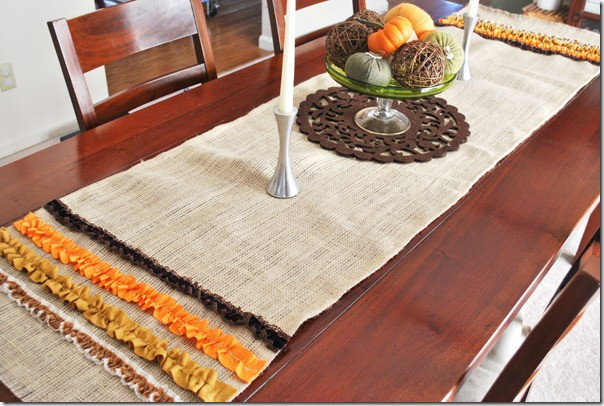 Thanksgiving Table Runner  Quick & Easy Thanksgiving Table Setting Ideas Soft designlab