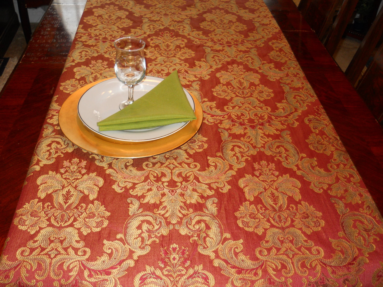 Thanksgiving Table Runner  Thanksgiving Table Runner Table Linen by EllensHomeAndVintage
