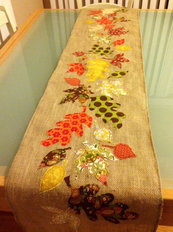 Thanksgiving Table Runners  Thanksgiving Leaves Table Runners Page Three