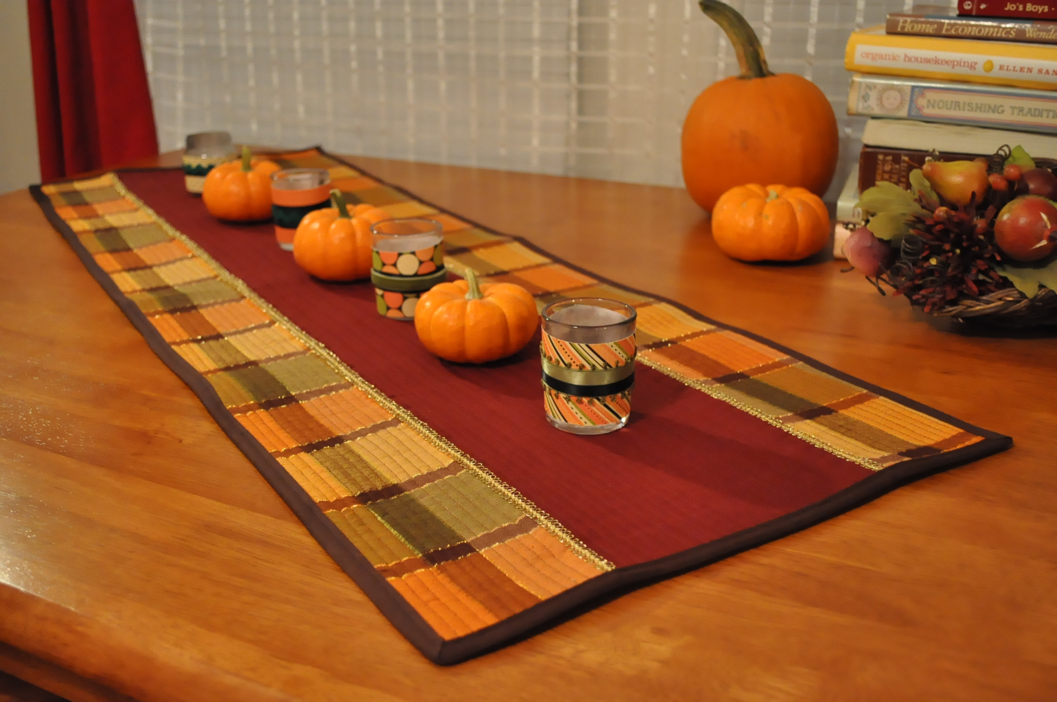 Thanksgiving Table Runners  Thanksgiving Table Runner – Coffee & Corduroy