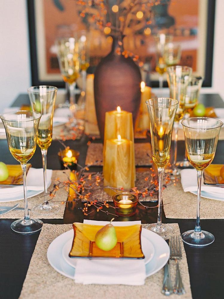 Thanksgiving Table Settings  The most elegant Thanksgiving table settings – Home And