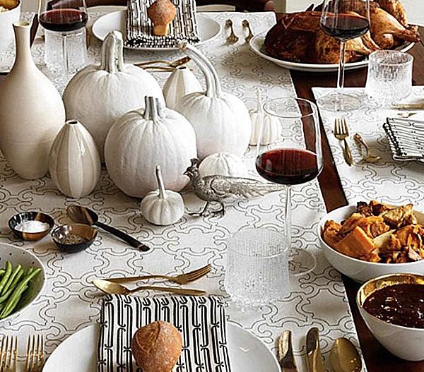 Thanksgiving Table Settings  12 Stylish Thanksgiving Table Setting Ideas