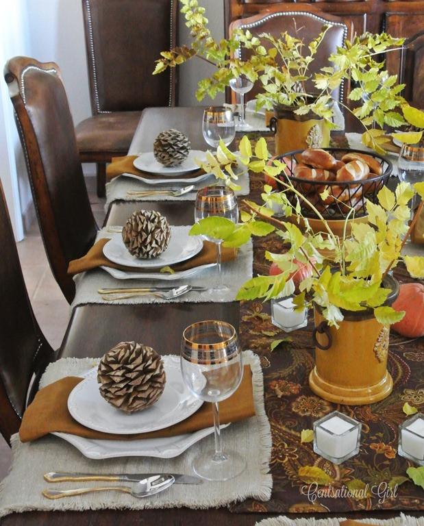 Thanksgiving Table Settings  Mom s Thanksgiving Table