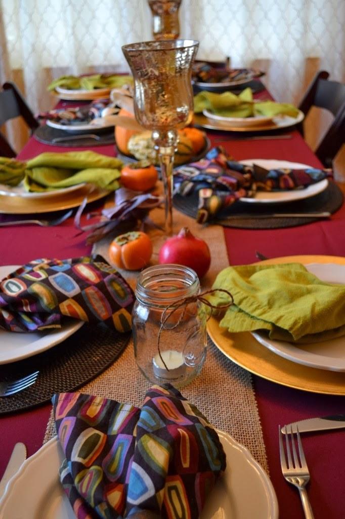 Thanksgiving Table Settings Martha Stewart  Alejandra Creatini 17 Thanksgiving Table Setting Ideas