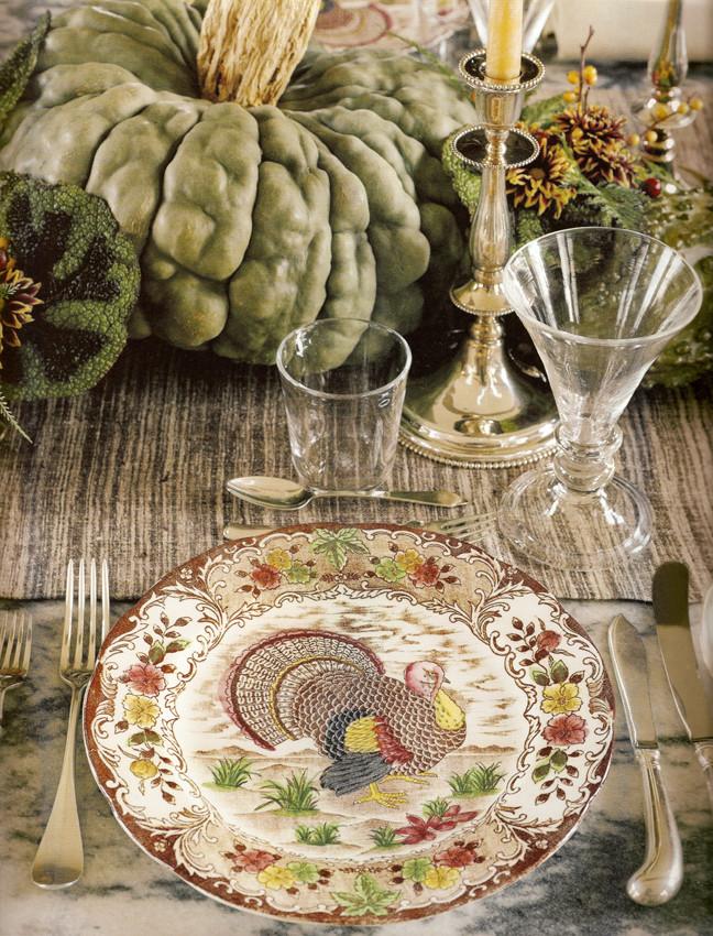 Thanksgiving Table Settings Martha Stewart  MARTHA MOMENTS Tablesettings by Martha