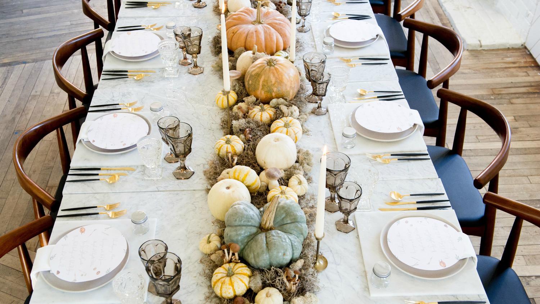 Thanksgiving Table Settings Martha Stewart  Ideas for a Modern Thanksgiving Table
