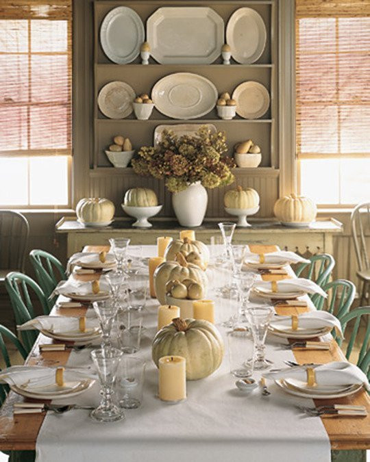 Thanksgiving Table Settings Martha Stewart  Tablescapes for Autumn and Thanksgiving My Life and Kids
