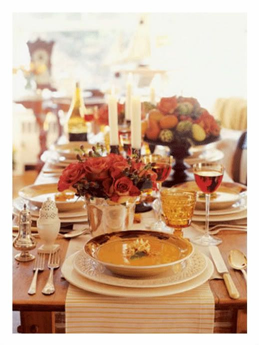Thanksgiving Table Settings Martha Stewart  11 best images about Thanksgiving on Pinterest