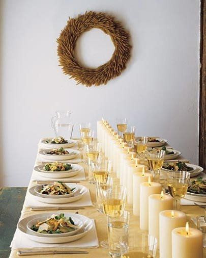 Thanksgiving Table Settings Martha Stewart  Not Your Mother s Thanksgiving Table
