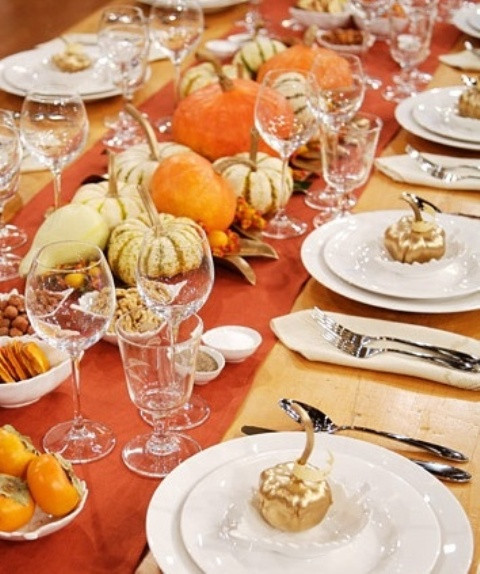 Thanksgiving Table Settings Martha Stewart  71 Cool Fall Table Settings For Special Occasions And Not