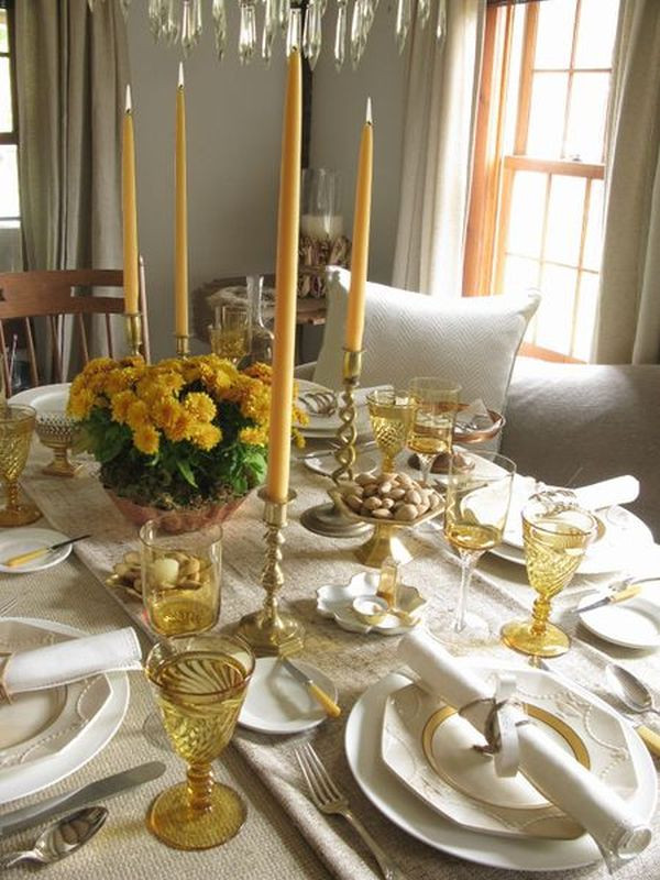 Thanksgiving Table Settings  30 Thanksgiving Table Setting Ideas For A Festive Décor