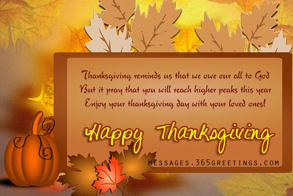 Thanksgiving Wishes Quotes  happy thanksgiving wishes 365greetings