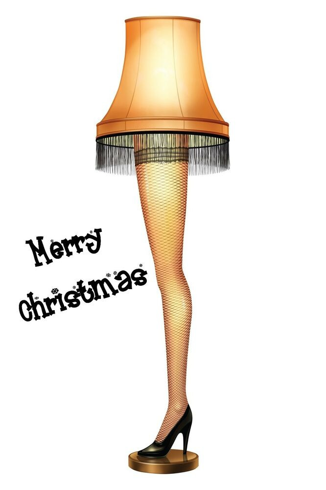 The Christmas Story Leg Lamp  A CHRISTMAS STORY LEG LAMP POSTER 24 X 36 INCH