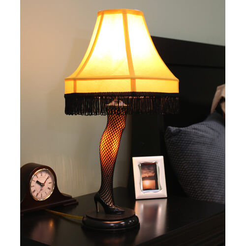 The Christmas Story Leg Lamp  19 Funny Christmas Gifts to Up Your Dirty Santa Game
