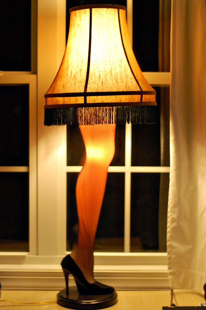 The Christmas Story Leg Lamp  Jack Attack Tuesday – What Makes It Christmas – BingeMedia Net