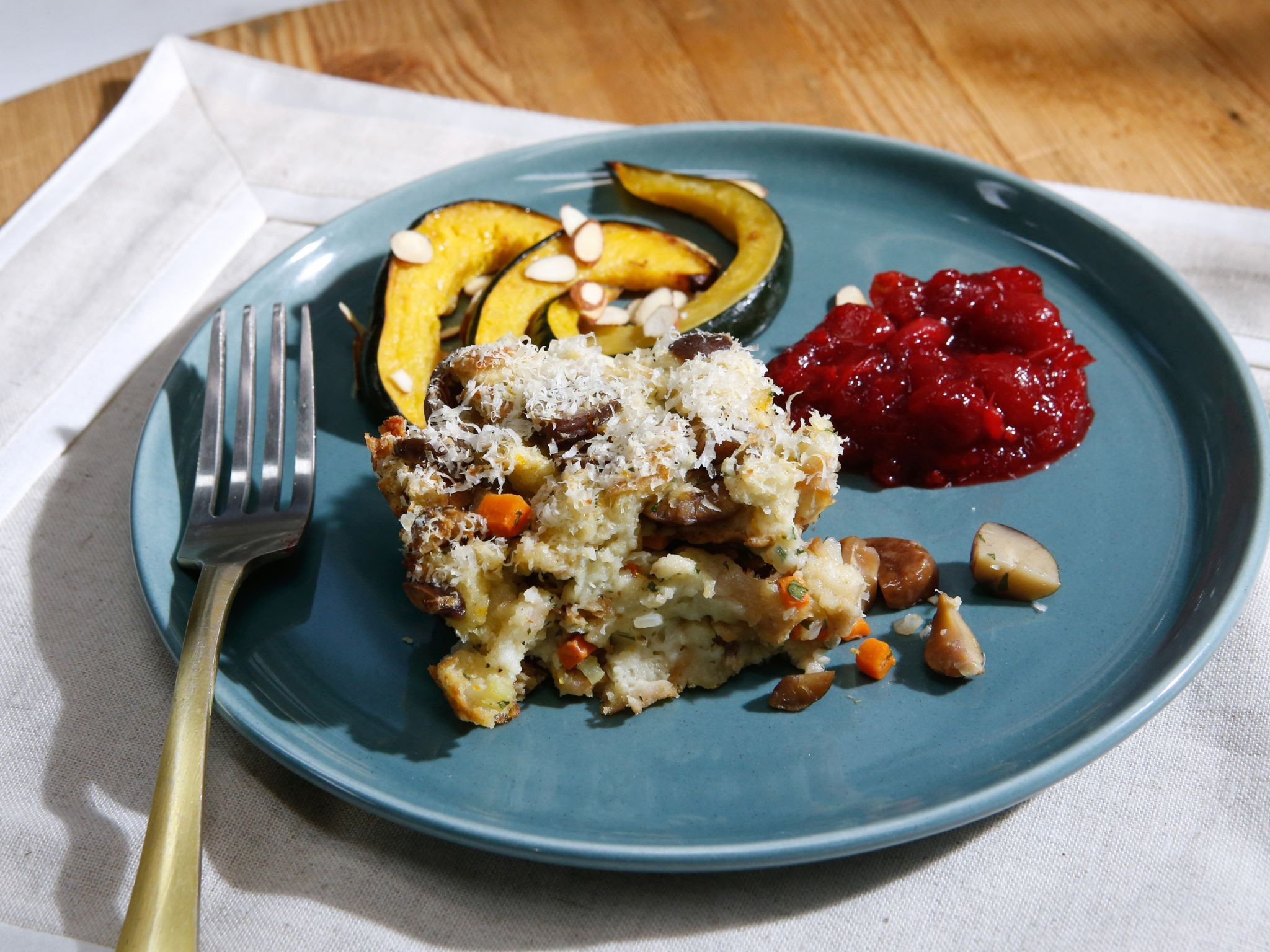 The Kitchen Thanksgiving Recipes  Get this all star easy to follow Chestnut Stuffing recipe