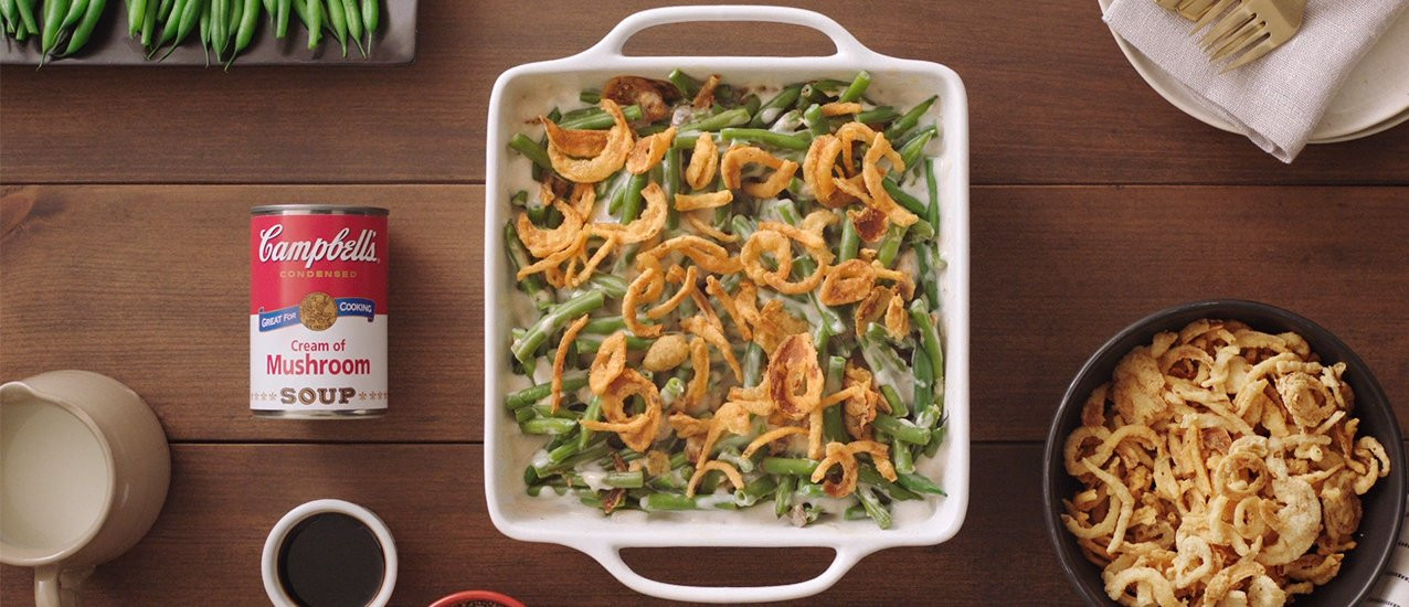 The Kitchen Thanksgiving Recipes  Classic Green Bean Casserole Recipe