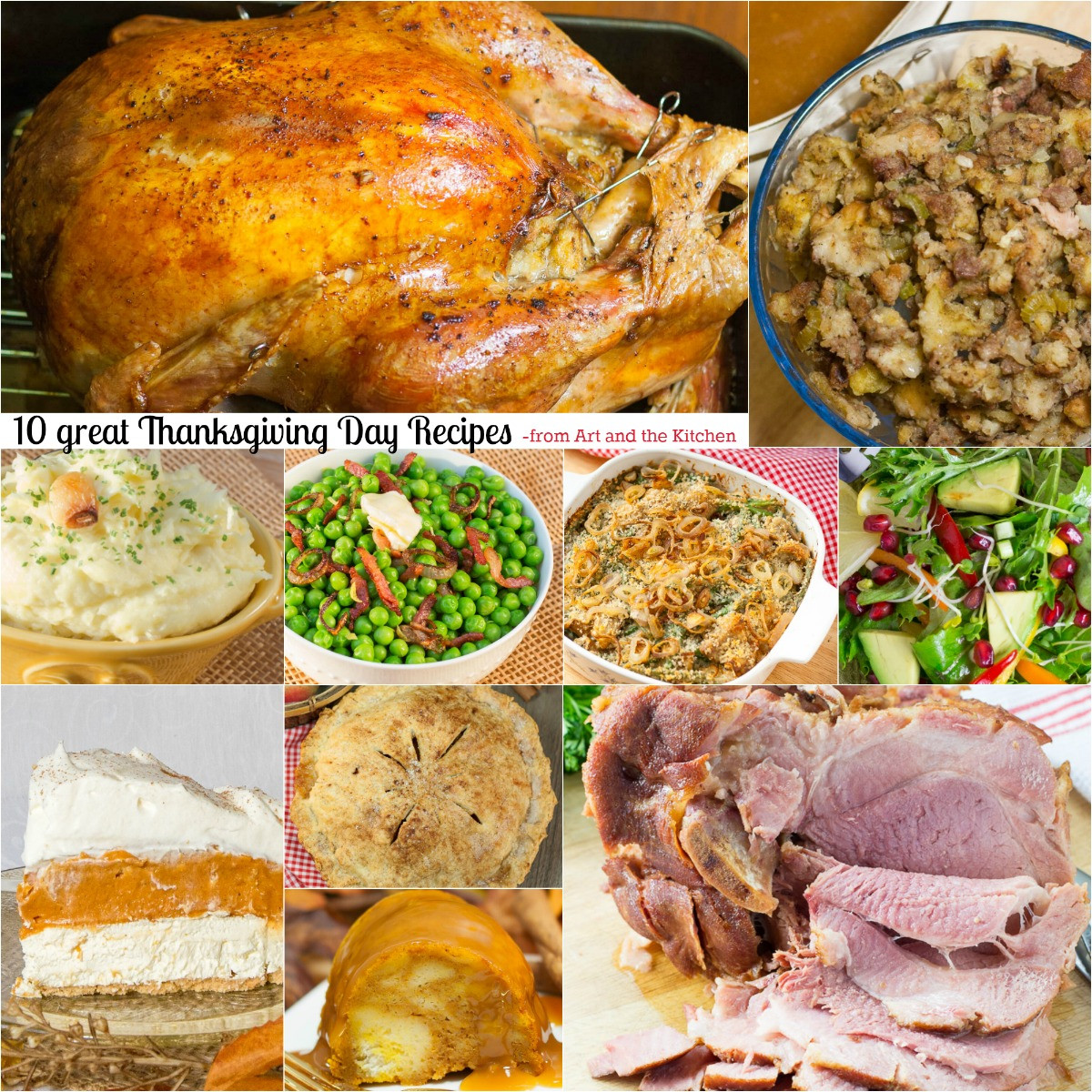 The Kitchen Thanksgiving Recipes  10 Great Thanksgiving Day Recipes