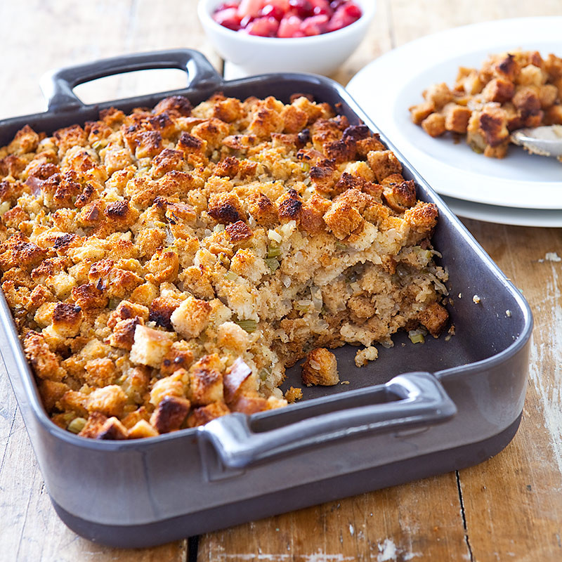 The Kitchen Thanksgiving Recipes  Back to Basics Bread Stuffing