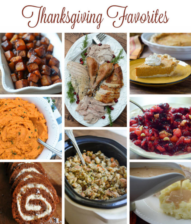 The Kitchen Thanksgiving Recipes  Favorite Thanksgiving Recipes