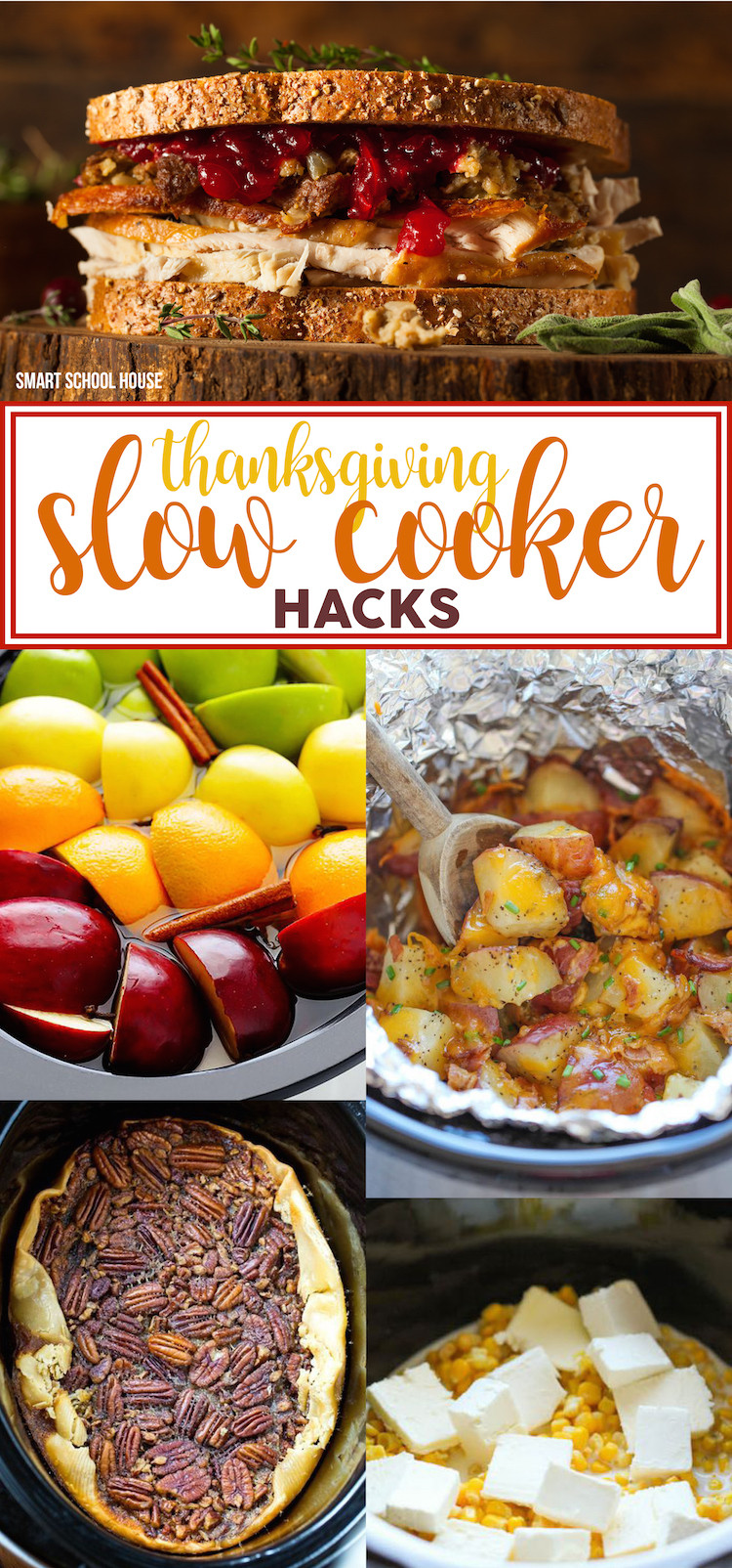 The Kitchen Thanksgiving Recipes  Thanksgiving Slow Cooker Hacks Smart School House