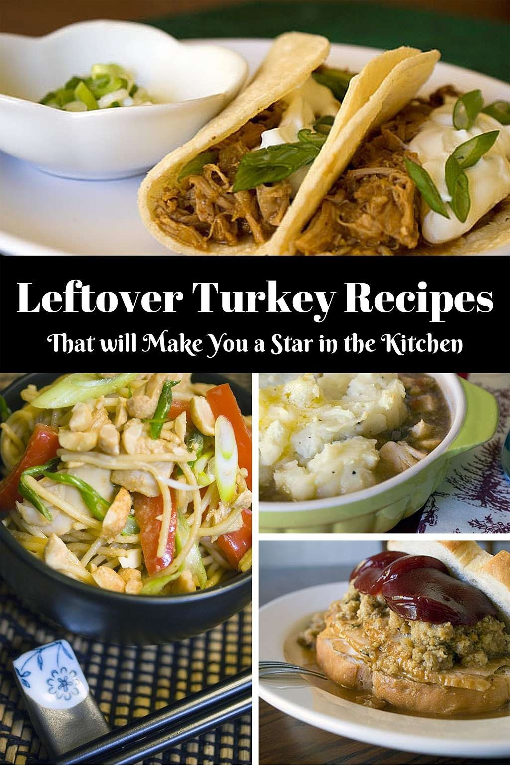 The Kitchen Thanksgiving Recipes  Leftover Turkey Recipes That Will Make You a Star in the