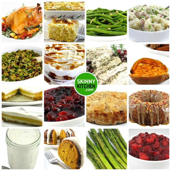 The Kitchen Thanksgiving Recipes  Skinny Kitchen's Thanksgiving Recipe Roundup with Weight