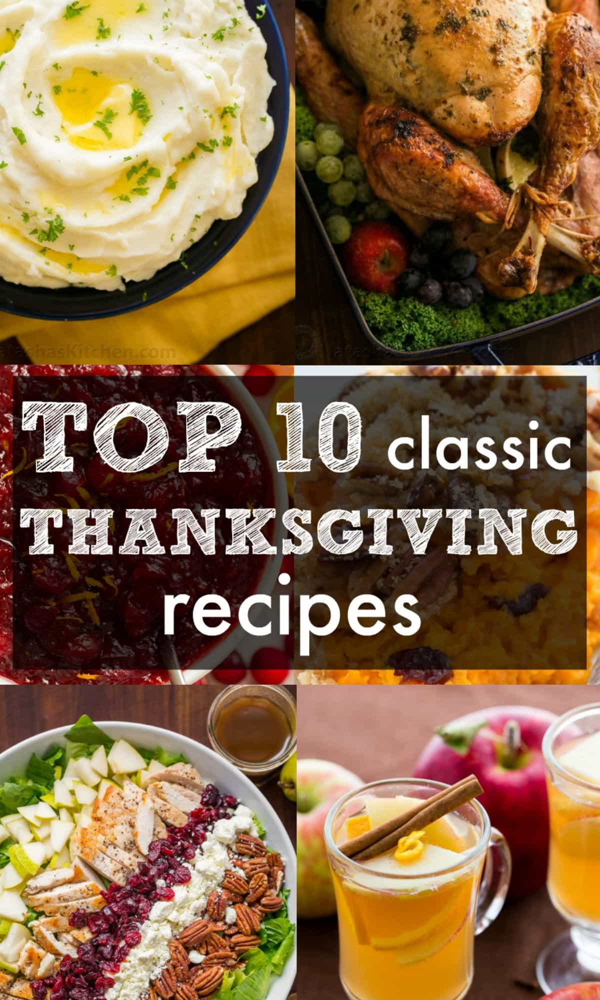The Kitchen Thanksgiving Recipes  Our Top 10 Classic Thanksgiving Recipes NatashasKitchen