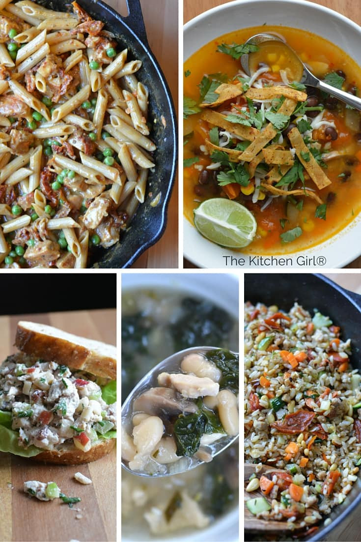 The Kitchen Thanksgiving Recipes  5 Easy Leftover Turkey Recipes in 30 Minutes or Less