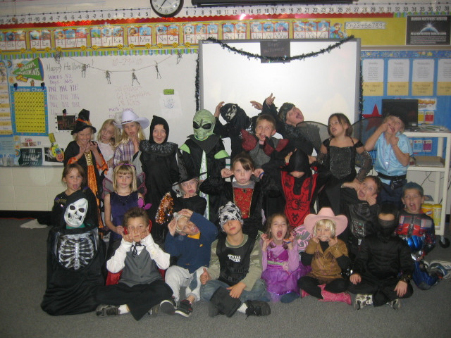 Third Grade Halloween Party Ideas  Mrs Harman s 2nd Grade Class Harman s 2nd Grade