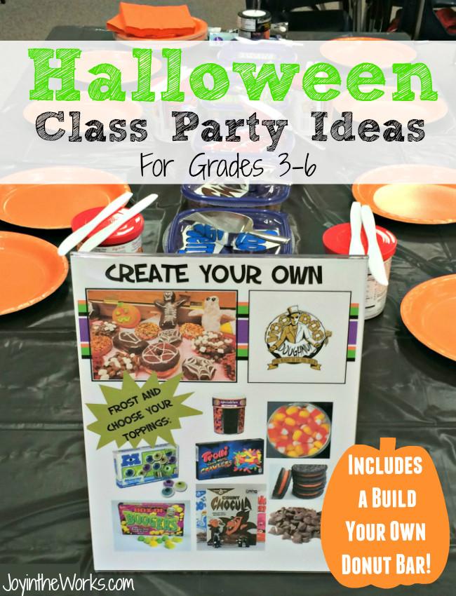 Third Grade Halloween Party Ideas  Halloween Class Party Ideas Grades PreK 2nd Joy in the Works