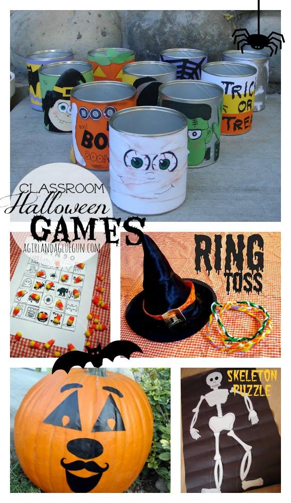 Third Grade Halloween Party Ideas  Pumpkin Golf Halloween Game Eighteen25